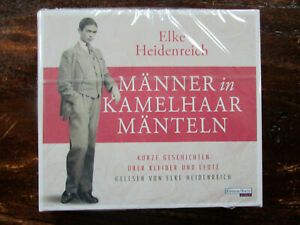 """Elke Heidenreich """"MÄNNER in KAMELHAARMÄNTELN"""",4 CDs,ungekürzt,neu,OVP,ohne Porto"""