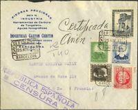 Spain. Republic Española Mail Certificate Republic Española Certif Mail