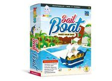 Jumboo Toys DIY 3D Sail Boat Kids Toy Craft Project Kit