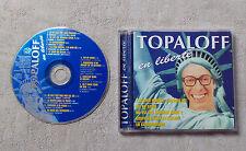 CD AUDIO  MUSIQUE FR / TOPALOFF EN LIBERTÉ CD ALBUM 13T 1996 WH RECORDS 191627-2