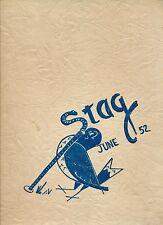 Detroit MI Mackenzie High School yearbook 1952 (June) Michigan