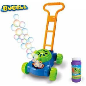 Bubble Blower Mower Machine Lawn Games Outside Toys for Kids Toddlers Fun 44