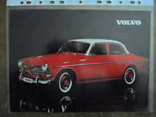 VOLVO 122S SALOON orig 1959 UK Mkt Sales Leaflet Brochure - Amazon