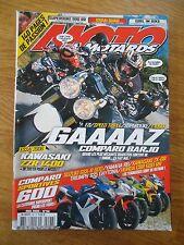 MOTO MOTARDS 96 KAWASAKI ZZR 1400 COMPARO SPORTIVES 600 SUZUKI 450 LTR XTR