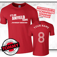 Liverpool Fan T-Shirt, Its An Anfield Thing, Football Gift Idea LFC