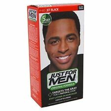 Just for Men Easy Lather In Haircolor H-60 Jet Black New In Box (936)