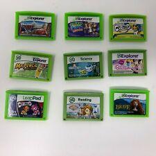 Lot of 9 Leap Frog Explorer Games
