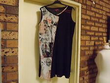 Lavender Road Sleeveless Polyester Mesh Dress sz 18-20