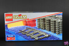 Lego 4520 System 9V Curved Tracks Sealed