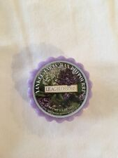 """Yankee Candle """"Lilac Blossoms"""" Tart"""