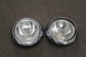 Pair of H4 Headlights for Porsche 911