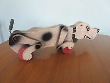 60s Vintage  Snoopy Sniffer Dog Wooden Pull Along Toy Dog