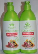2 NATURE'S GATE CONDITIONER FOR COLOR TREATED HAIR POMEGRANATE & SUNFLOWER 18OZ