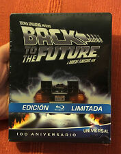 BACK TO THE FUTURE NEW REGION FREE OOP BLU-RAY STEELBOOK SPANISH
