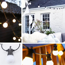 Outdoor String Lights Bulb Globe G50 Plug In Waterproof For Patio Wedding Party