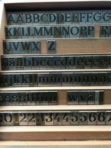 Schriftsatz  Antiqua für Deckel Graviermaschine, Messing