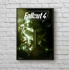 Fallout 4 Video Game Wall Decor Poster , Fallout 4 Video Game Wall no Framed