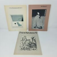 Print Review Lot of 3 | # 1, 2, 9 | 1973, 1979 | Illustrated, Art