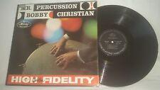 BOBBY CHRISTIAN - MR PERCUSSION VINTAGE MERCURY RECORDS LP - MG-20335