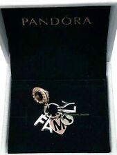Genuine Rose Gold PANDORA PERFECT FAMILY Charm Pendant 787785CZ ALE S925