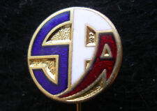 Scotland Football Federation , Soccer Pin Badge Enameled