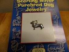 JEWELRY HAND AND HAMMER STERLING SILVER PENDENT/CHARM CORGI DOG