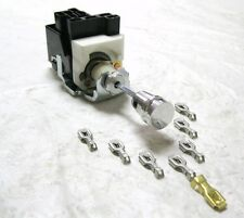 Universal GM Headlight Switch Kit with Alum. Knob - Shaft - Collar - Connector