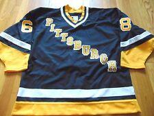 NEW VINTAGE CCM MASKA NHL PITTSBURGH PENGUINS JAROMIR JAGR AUTHENTIC JERSEY 50