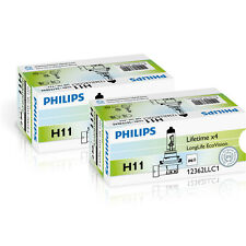 Philips H11 12v 55w pgj19-2 longerlife Ecovision 2 piezas 12362llecoc1