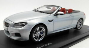 Paragon 1/18 Scale Diecast - 80432253656 BMW M6 Convertible Silverstone II