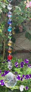 40mm Crystal ball Chakra Suncatcher, Meditation,Mindfulness for home/garden