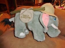 "Elephant Busch Gardens 11"" Safari Hat Stuffed Plush"