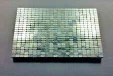 """500 Neodymium N50 Block Magnets. Strong Rare Earth 1/2"""" × 3/8"""" × 1/4"""" USED"""