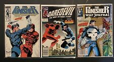DAREDEVIL VS PUNISHER Lot: DD #257 | Punisher 10 | Punisher War Journal #2