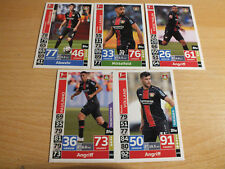 Match Attax Action 18 19,2018 2019  5 x Bayer Leverkusen