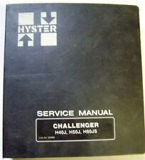 Hyster Challenger H40/50J-H60JS Forklift Factory Dealer Service Manual