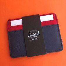 Herschel Supply Co. Charlie Wallet Card holder  - [Navy/Red] (NWT)
