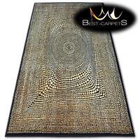 "TRADITIONAL AGNELLA RUGS beige dots ""STANDARD"" modern designs carpet"