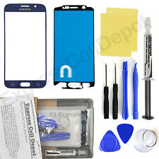 Blue Samsung Galaxy S6 G920 Front Glass Screen Replacement Repair Kit