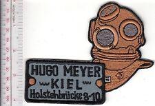 SCUBA Hard Hat Diving Germany Hugo Meyer 3 Bolts Helmet Kiel Holstenbrücke 8-10