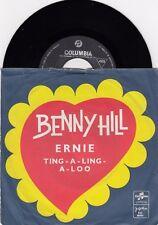 """BENNY HILL ERNIE RARE DIFFERENT COVER UNIQUE 1971 RECORD YUGOSLAVIA 7"""" PS"""