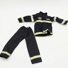 "Fireman Uniform Tops+Pants  Fit 12"" 1:6  Action Figure Model Male 1/6 Scale Toys"