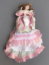 "Franklin Mint MARYSE NICOLE SOUTHERN BELLE Doll 20"" Porcelain Cloth Dress PRETTY"