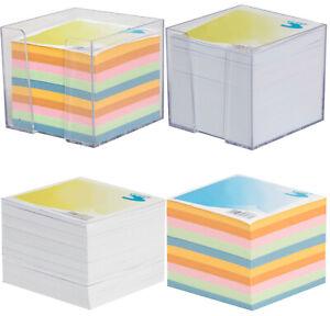 Loose Jumbo Memo Jotter Block Cube Holder Paper Note Sheets Refill OfficeCentre®