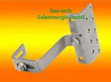 1 Dachhaken A2 3 fach Verstellbar für Dachpfannen solar PV Photovoltaik Montage