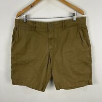 Sportscraft Mens Shorts 36 Khaki Brown Bermuda Pockets