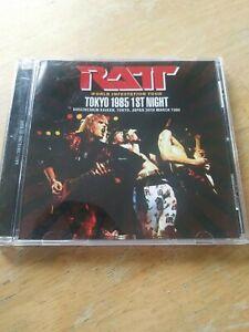 """Ratt """"LIVE"""" World Infestation Tour Tokyo Japan 1985 CD. RARE IMPORT."""