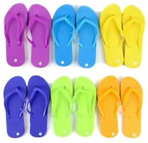 Wholesale Women's Flip Flops - Bright Colors - LOT OF 96 - BRAND NEW