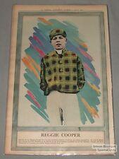 August 1st 1931 La Presse Reggie Cooper Jockey Horse Racing Premium Photo