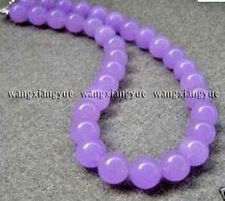"10mm Natural Alexandrite Round Beads Jewelry Necklace 18"" AAA Grade"